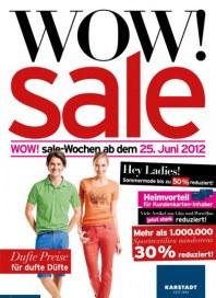 KARSTADT WOW! Sale Juni 2012 KW26