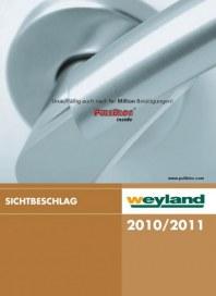 Weyland GmbH Sichtbeschlag 10/11 Mai 2012 KW21