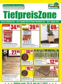 Holz Possling TiefpreisZone Juni 2012 KW26