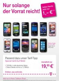 Telekom Shop Nur so lange der Vorrat reicht Juni 2012 KW26