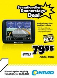 Conrad Sensationeller Donnerstags-Deal Juni 2012 KW26 3