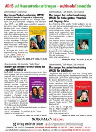 verlag modernes lernen Borgmann GmbH & Co. KG ADHS und Konzentrationsstörungen Mai 2012 KW22