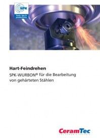 CeramTec GmbH Hart-Feindrehen von gehärteten Stählen Mai 2012 KW22