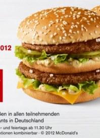 McDonalds Jetzt neue Gutscheine Juni 2012 KW24