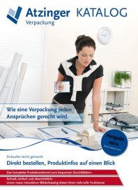 Atzinger Verpackung GmbH Verpackung 2012 Januar 2012 KW52