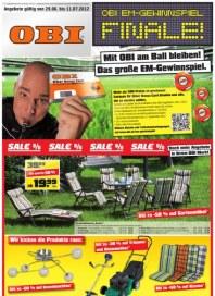 OBI SAL€ % Juni 2012 KW26