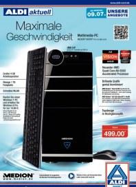 Medion Aldi Nord Höchste Ausstattung für höchste Ansprüche Juli 2012 KW27