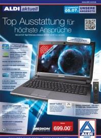 Aldi Nord Top Ausstattung für höchste Ansprüche Juli 2012 KW27