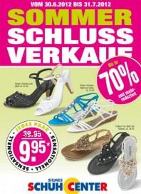 SIEMES Schuhcenter Sommerschlussverkauf Juni 2012 KW26