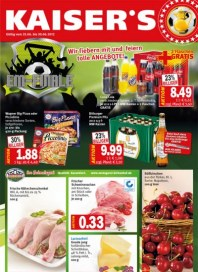 Kaiser's Wir fiebern mit und feiern tolle Angebote Juni 2012 KW26 2