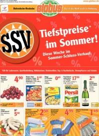 Globus Tiefstpreise im Sommer Juli 2012 KW27