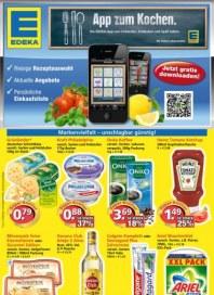 Edeka App zum Kochen Juli 2012 KW27