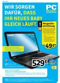 PC-SPEZIALIST Wir sorgen dafür, dass Ihr neues Baby gleich läuft Juni 2012 KW26