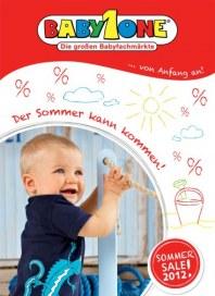 BabyOne Sommer Sales Juli 2012 KW26