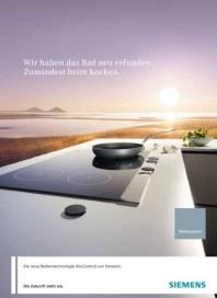 Siemens-Electrogeräte GmbH Kochfelder mit discControl 2012 Januar 2012 KW52