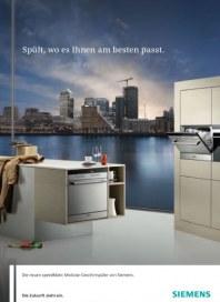 Siemens-Electrogeräte GmbH speedmatic Modular-Geschirrspüler 2012 Januar 2012 KW52