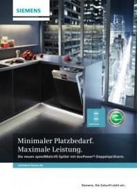 Siemens-Electrogeräte GmbH speedmatic45-Geschirrspüler für den Elektrofachhandel 2012 Januar 2012 KW