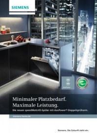 Siemens-Electrogeräte GmbH speedmatic45-Geschirrspüler für den Küchenfachhandel 2012 Januar 2012 KW5