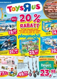 Toys'R'us 20% Rabatt Juli 2012 KW27