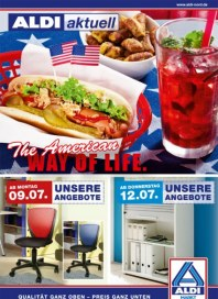 Aldi Nord The American WAY OF LIFE Juli 2012 KW28