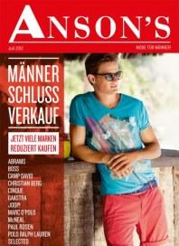 Anson's Männer Schluss Verkauf Juli 2012 KW27