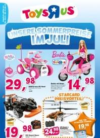 Toys'R'us Unsere Sommerpreise - Im Juli Juli 2012 KW27