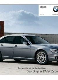 BMW AG Bayerische Motoren Werke 7er Zubehör Kurzkatalog Juni 2012 KW23