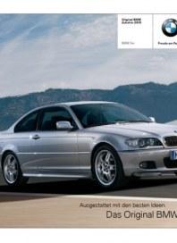 BMW AG Bayerische Motoren Werke 3er Zubehör Kurzkatalog Juni 2012 KW23