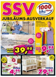 Dänisches Bettenlager SSV - Jubiläumsausverkauf Juli 2012 KW28