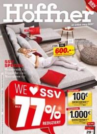Höffner Wo wohnen wenig kostet Juli 2012 KW28