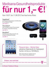 Telekom Shop Medisana-Gesundheitsprodukte Juli 2012 KW28
