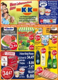 K+K - Klaas & Kock Wenn Lebensmittel, dann K+K Juli 2012 KW29 2
