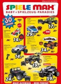 Spiele Max Spielwaren Flyer Juli 2012 KW29