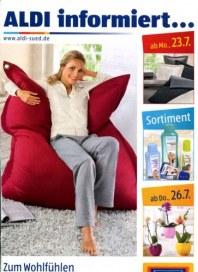 Aldi Süd Zum Wohlfühlen  bequem Juli 2012 KW30