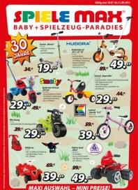 Spiele Max Spielwaren -Flyer Juli 2012 KW29