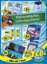Tedi Bärenstarke Schulsachen Juli 2012 KW29