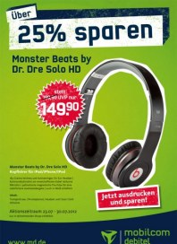 mobilcom-debitel Über 25% sparen Juli 2012 KW29