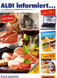 Aldi Süd Buon appetito - genießen auf italienisch Juli 2012 KW31