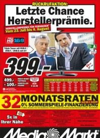 MediaMarkt Letzte Chance Juli 2012 KW30