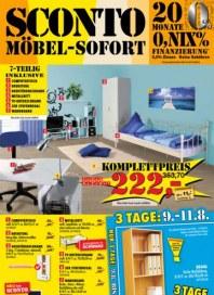 Sconto Möbel Sofort Juli 2012 KW30