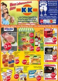 K+K - Klaas & Kock Wenn Lebensmittel, dann K+K Juli 2012 KW31 4