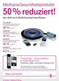 Telekom Shop Medisana Gesundheitsprodukte August 2012 KW31