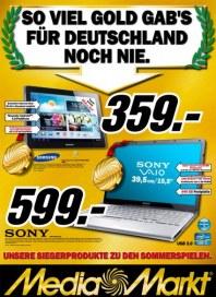 MediaMarkt So viel Gold gabs für Deutschland noch nie August 2012 KW31