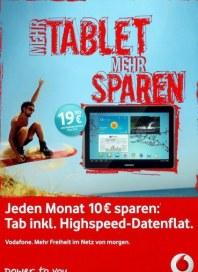 Vodafone Mehr Tablet Mehr Sparen Juni 2012 KW25