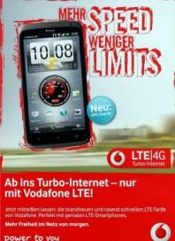 Vodafone Mehr Speed Weniger Limits Juni 2012 KW24