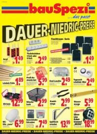 BauSpezi Dauer-Niedrigpreise Juli 2012 KW30