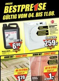 B1 Discount-Baumarkt Unsere Bestpreise August 2012 KW31