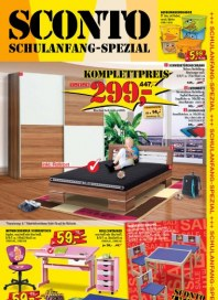Sconto Schulanfang-Spezial Juli 2012 KW31