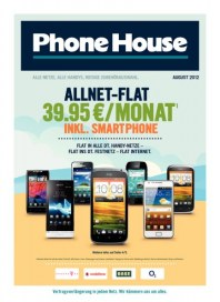 Phone House Kommunikation auf meine Art August 2012 KW31