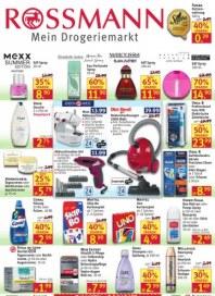 Rossmann Wochen-Angebote Juli 2012 KW31